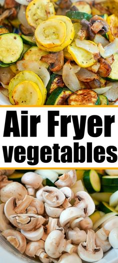 These air fryer vegetables have no coating, only seasoning, which makes them a super healthy and tasty side dish. These air fryer vegetables have no coating, only seasoning, which makes them a super healthy and tasty side dish. Air Fryer Recipes Vegetables, Air Fryer Dinner Recipes, Air Fryer Oven Recipes, Veggies, Recipes Dinner, Zucchini Dinner Recipes, Healthy Vegetables, Breakfast Recipes, Low Carb Meal