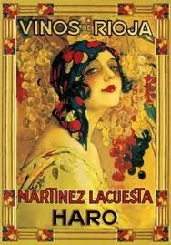 Vinos rioja poster #vintage