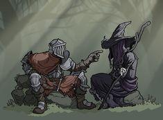 Dark Souls 2 - Alva and Zullie by jdeberge