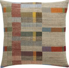 """Kaleb 20"""" Pillow with Down-Alternative Insert 