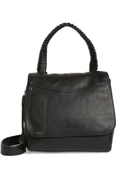 Elizabeth and James Trapeze Leather Satchel available at #Nordstrom