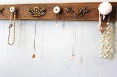 doorknob jewelry organizer