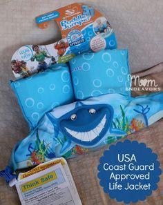 Puddle Jumper Life Jacket - fun swim aid & Coast Guard-approved life jacket.