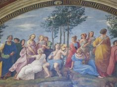 Allegory of Poetry by Raphael, apartment of Pope Julius II