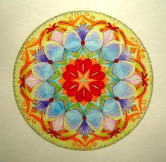 Mandalala No.53, 2014, 40 x 40 cm