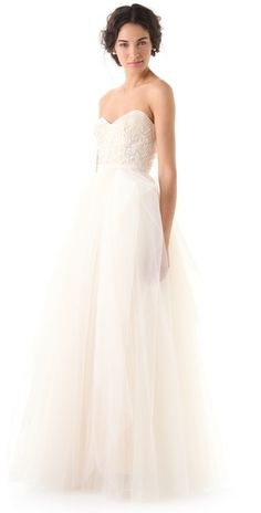 "Reem Acra ""Eternity"" dress"
