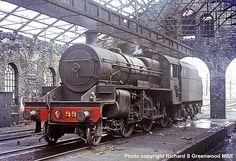 David Heys steam diesel photo collection - 88 - BR RAILWAY ROUNDABOUT 3 Old Steam Train, Steam Railway, Standard Gauge, British Rail, Steam Locomotive, Ireland Travel, Model Trains, Paddle, Diesel