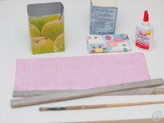 Idee fai da te :: Riciclo tetrapak - le scatoline primaverili