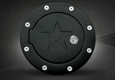 Dodge Ram Accessory - Rolling Big Power Dodge Ram RX-2 Series Replacement Fuel Door $129.95 - maybe without the big logo
