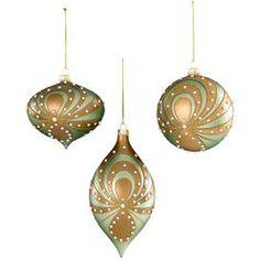 Pearl Swirl Ornament