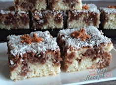 Czech Recipes, My Recipes, Sweet Recipes, Cookie Recipes, Ethnic Recipes, Kefir, Mini Cheesecakes, Aesthetic Food, Sweet Desserts