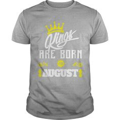 Kings Are Born In August T-Shirt #gift #ideas #Popular #Everything #Videos #Shop #Animals #pets #Architecture #Art #Cars #motorcycles #Celebrities #DIY #crafts #Design #Education #Entertainment #Food #drink #Gardening #Geek #Hair #beauty #Health #fitness #History #Holidays #events #Home decor #Humor #Illustrations #posters #Kids #parenting #Men #Outdoors #Photography #Products #Quotes #Science #nature #Sports #Tattoos #Technology #Travel #Weddings #Women