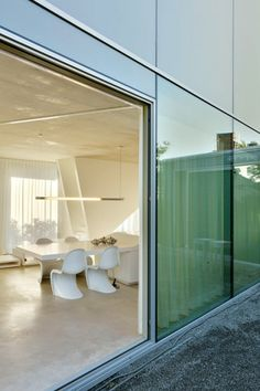 Glass and simple. Love!