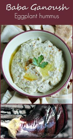 Learn how to make this middle eastern dip called Baba Ganoush which is very similar to humus but made with eggplant.