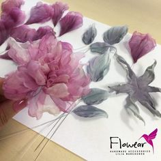 Making Fabric Flowers Fabric Flower Pins Fabric Roses Flower Making Handmade Flowers Diy Flowers Flower Crafts Paper Flowers Ribbon Flower Tutorial Image gallery – Page 237846424054199702 – Artofit Fabric Flower Pins, Making Fabric Flowers, Fabric Flower Brooch, Organza Flowers, Giant Flowers, Cloth Flowers, Fabric Roses, Felt Flowers, Flower Making