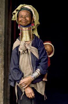 Grandparents.   Burma.