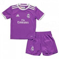 #Real Madrid Trøje Børn 16-17 Udebanesæt Kort ærmer.199,62KR.shirtshopservice@gmail.com