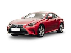 Lexus RC Coupe front three quarter view