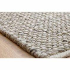 Handgewebter Wollteppich Armand in GrauWayfair. Grey Carpet Living Room, Rugs In Living Room, Wall Carpet, Rugs On Carpet, Carpet Trends, Carpet Ideas, Buy Rugs, Carpet Colors, Ideas