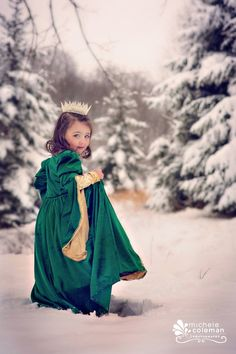 A snow princess themed photo-shoot for my beautiful three year old!!