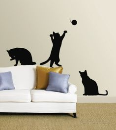 Cats Wall Decal at AllPosters.com