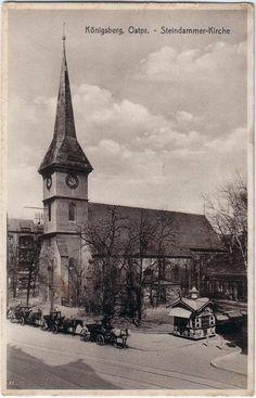 Königsberg.. Steindammer Kirche
