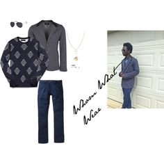 Whom What To Wear by nattysupplyco on Polyvore