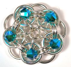 Summer Breezes from Step by Step Wire Jewelry - sample by Blue Buddha Boutique