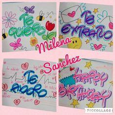 Aprende la mejor letra... Con amor, dedicacion y mucha creatividad #letratimoteo #creatividad #hechoamano #cucuta #marcadores Fig, Valentines Day, Wraps, Notebook, Bullet Journal, Baby Shower, Scrapbook, Lettering, Cool Stuff