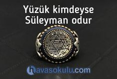 Yüzük kimdeyse Süleyman Odur Sufi, Allah, Class Ring, Bling, Jewel, God, Allah Islam