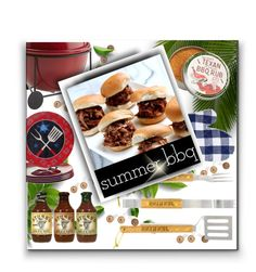 """""""Summer BBQ"""" by sisilem ❤ liked on Polyvore featuring interior, interiors, interior design, home, home decor, interior decorating, Schmidt Brothers, Sur La Table, Certified International and Pier 1 Imports"""