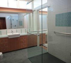 mid century modern bathroom | Mid Century Bath - contemporary - bathroom - san luis obispo - by ...