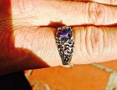 Men's Ring SALE: Unique Genuine Australian  Opal от AmyKJewels