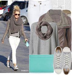 """Dress like Ashley Tisdale"" by megi32 ❤ liked on Polyvore"
