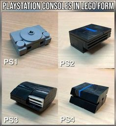 How to LEGO a PlayStation - Playstation - Ideas of Playstati Lego Design, Easy Lego Creations, Lego Creations Instructions, Legos, Deco Lego, Casa Lego, Lego Memes, Lego Furniture, Lego Sculptures