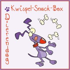Dierendag Kwispel-Snack-Box |