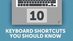 So you own a Chromebook. But do you know how to use it like a ninja? Here are 10 keyboard shortcuts for Chrome that are well worth knowing.