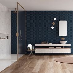 Discover recipes, home ideas, style inspiration and other ideas to try. Bathroom Design Inspiration, Bathroom Interior Design, Contemporary Bathroom Designs, Apartment Design, Beautiful Interiors, Home Renovation, Small Bathroom, Sweet Home, New Homes