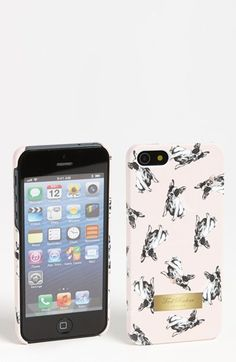 This is a must!!  Ted Baker London 'Cotton Dog' iPhone 5 Case available at #Nordstrom