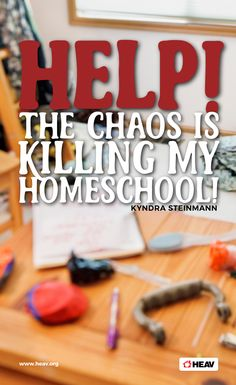 4 Steps to Organizing Your Homeschool