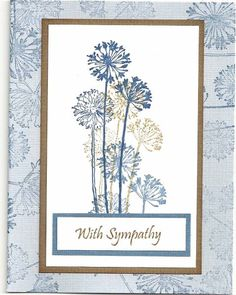 simple sympathy by happy-stamper - Cards and Paper Crafts at Splitcoaststampers