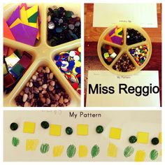 Provocations (Reggio) Patterns