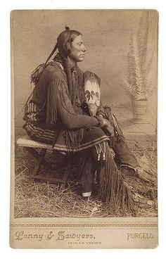 Quanah Parker(~1845-1911), Chief of the Comanche Nation.