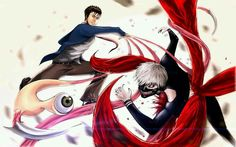 Parasytes and Tokyo Ghoul