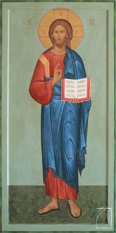 Religious Icons, Religious Art, Byzantine Icons, Orthodox Christianity, Orthodox Icons, Christian Art, Roman Catholic, Kirchen, Jesus Christ