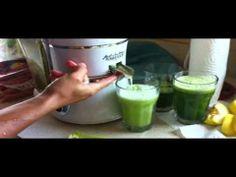 Como se hace el Jugo Verde - YouTube