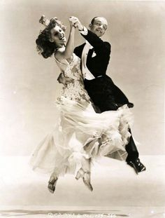 "Fred Astaire and Rita Hayworth, 1942, publicity shot for ""You Were Never Lovelier"""