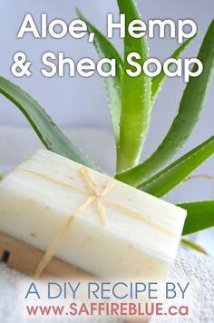 Aloe, Hemp & Shea Cold Process Soap Recipe – Saffire Blue Inc.