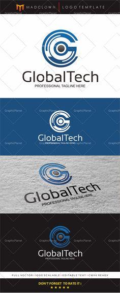 Globus Logo, Auto Design, Letter G, Name Cards, Vector File, Illustrator, Design Ideas, Internet, Tech
