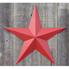 """Two 12/"""" Inch RUST BARN STAR PRIMITIVE RUSTIC COUNTRY FARMHOUSE"""